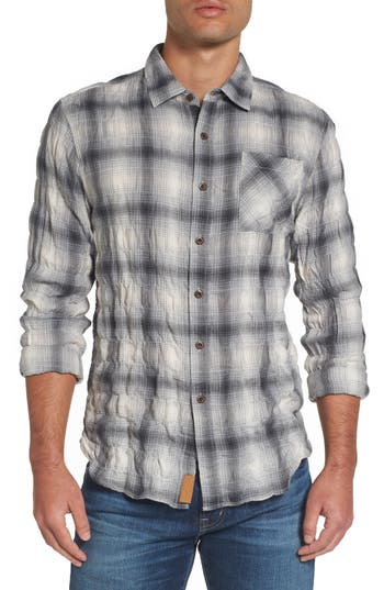 Men's Nifty Genius Truman Plaid Sport Shirt