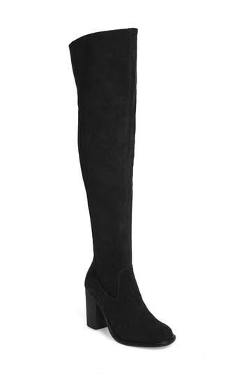Kelsi Dagger Brooklyn Logan Over The Knee Boot- Black