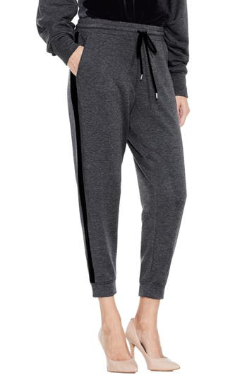 Women's Two By Vince Camuto Velvet Stripe Jogger Pants