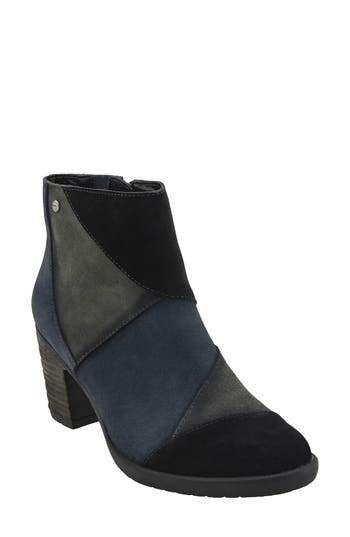 Earth Malta Water Resistant Bootie- Black