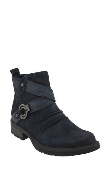 Earth Laurel Boot, Blue