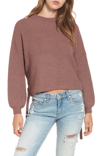 Purple Fitted Sweater | Nordstrom