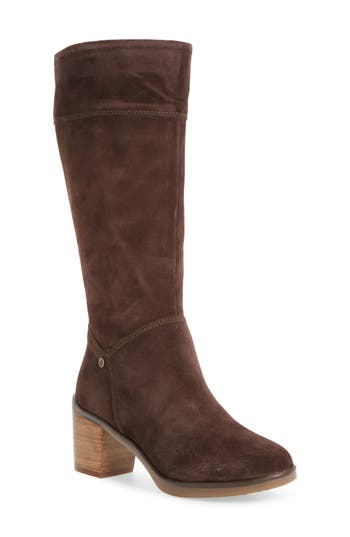 Hush Puppies Saun Olivya Tall Boot, Brown