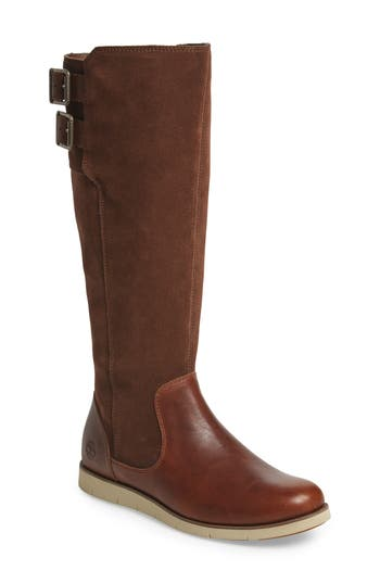 Timberland Lakeville Tall Boot- Brown