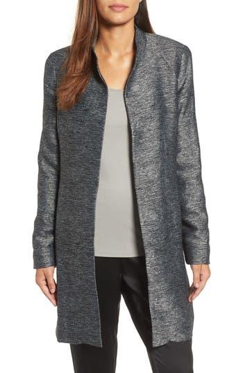Women's Eileen Fisher Long Tweed Jacket