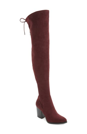 Marc Fisher Ltd Adora Over The Knee Boot- Red