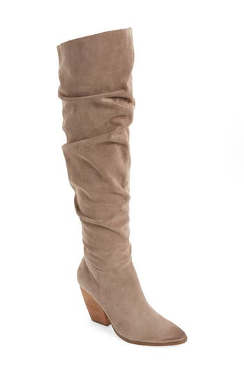 Charles By Charles David Noelle Over The Knee Boot, Beige