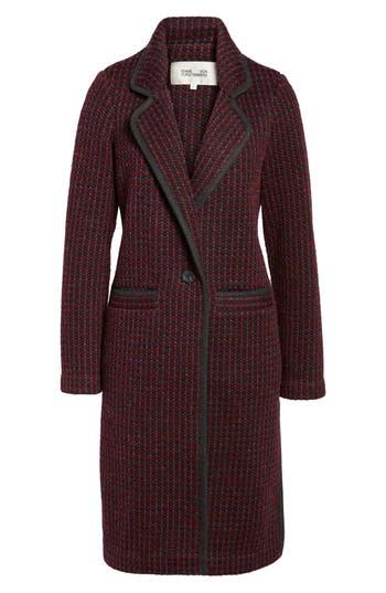 Women's Diane Von Furstenberg Tweed Coat