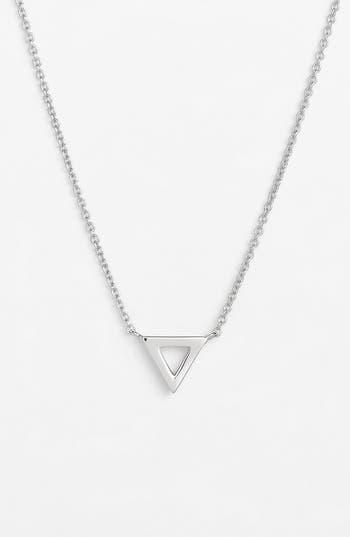 Women's Bony Levy Triangle Pendant Necklace (Nordstrom Exclusive)
