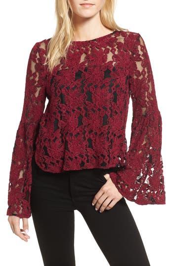 Women's Cupcakes And Cashmere Florent Crochet Top