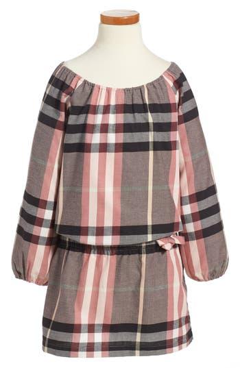 Girl's Burberry Kadyann Check Flannel Dress