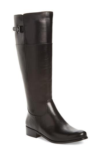 Vaneli Record Boot, Black