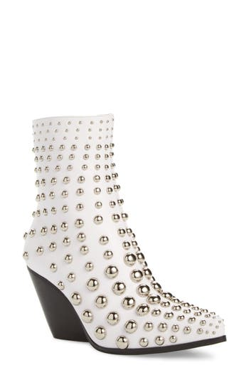 Jeffrey Campbell Colston Bootie- White