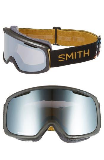 Women's Smith Riot Chromapop Snow/ski Goggles - Black Firebird/ Mirror