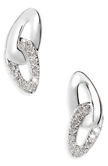 Women's Ippolita Cherish Link Diamond Stud Earrings