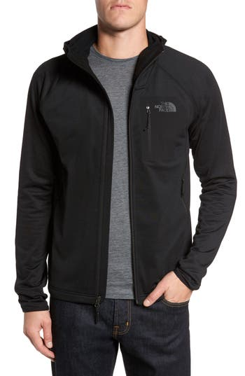 The North Face Borod Zip Fleece Jacket, Black