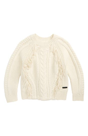 Ivory Cable Knit Sweater | Nordstrom