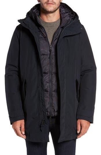Woolrich John Rich & Bros. Mountain Water-Repellent 2-In-1 Jacket, Blue
