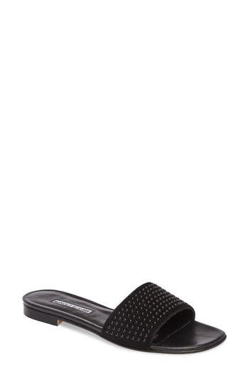 Women's Manolo Blahnik Falcopearl Slide Sandal