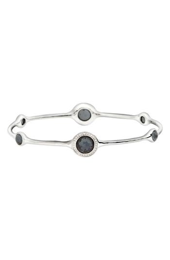 Women's Ippolita 'Stella' 6-Stone & Diamond Bangle