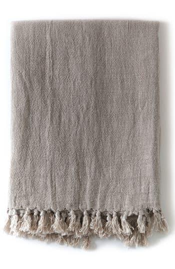 Pom Pom At Home Montauk Big Throw Blanket, Size One Size - Brown