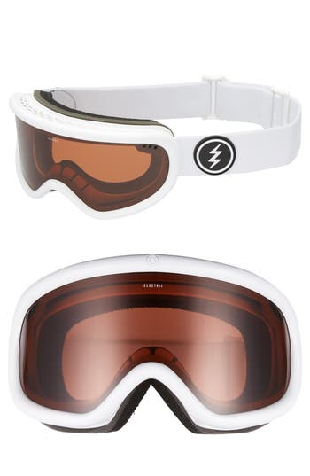 Women's Electric Charger Snow Goggles - Gloss White
