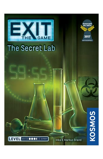 Thames & Kosmos Exit Secret Lab Game