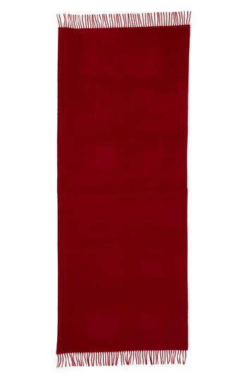 Women's Max Mara Cashmere Wrap Scarf, Size One Size - Red