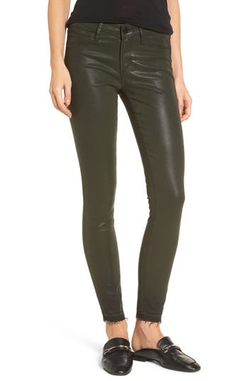 Women's Articles Of Society Sarah Coated Skinny Jeans