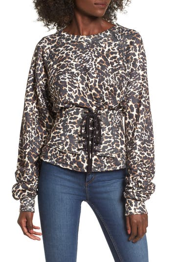 Women's Afrm Mason Corset Sweatshirt