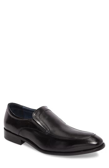 Men's Stacy Adams Embossed Apron Toe Loafer