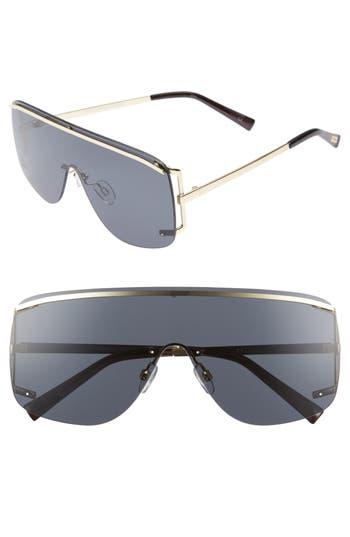 Le Specs Elysium 140Mm Shield Sunglasses - Gold