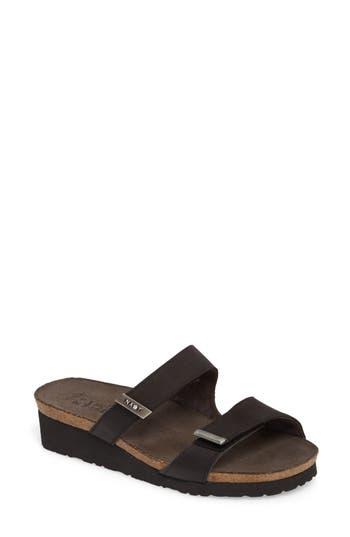 Women's Naot Jacey Sandal, Size 7US / 38EU - Black