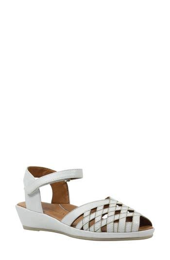 Women's L'Amour Des Pieds Burcie Wedge Sandal, Size 8 M - White