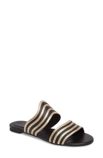 Matisse Russo Slide Sandal- Black