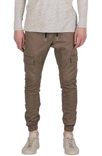 Zanerobe Sureshot Cargo Jogger Pants, Brown
