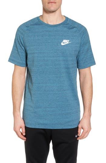 Nike Nsw Av15 Crewneck T-Shirt, Blue