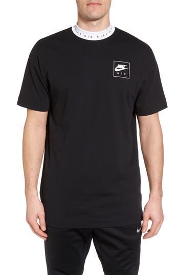 Nike Nsw Top Air T-Shirt, Black