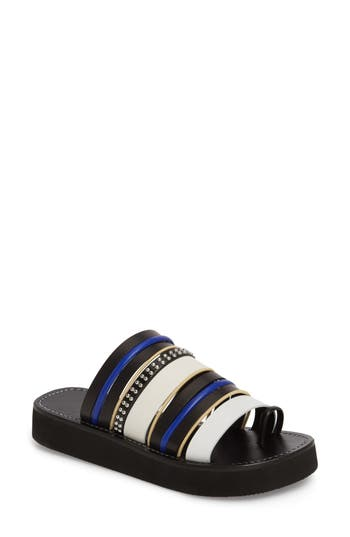 3.1 Phillip Lim Eva Strappy Toe Loop Sandal