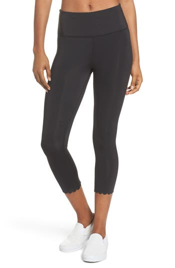 Kate Spade New York Scallop Crop Leggings