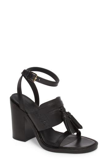 Women's Burberry Bethany Sandal, Size 11US / 41EU - Black