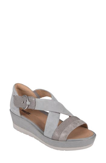 Earth Hibiscus Sandal, Metallic