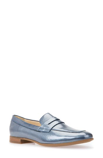 Geox Marlyna Penny Loafer - Blue