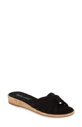 Women's Splendid Faith Sandal, Size 9 M - Black