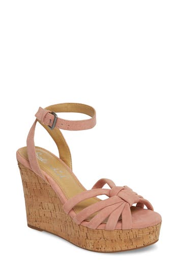 Splendid Fallon Wedge Sandal- Pink