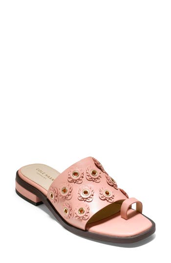 Cole Haan Carly Floral Sandal, Coral