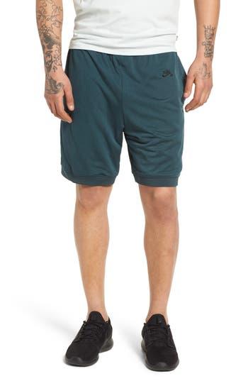 Nike Sb Dry Heritage Court Shorts, Green