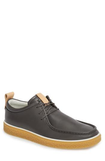 Ecco Crepetray Moc Toe Low Chukka Boot, Grey