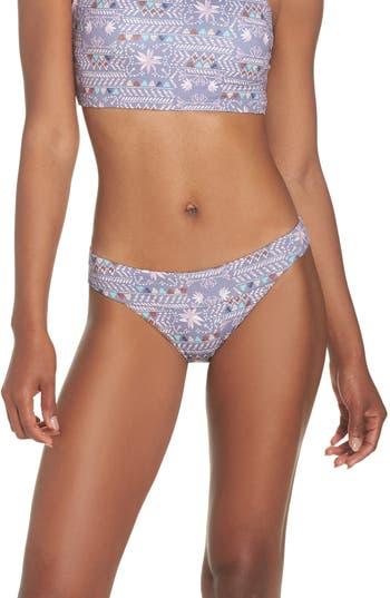 Patagonia Nanogrip Nireta Bikini Bottoms, Purple