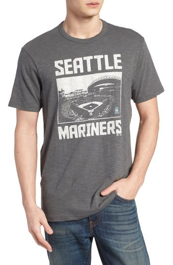 47 Mlb Overdrive Scrum Seattle Mariners T-Shirt, Grey